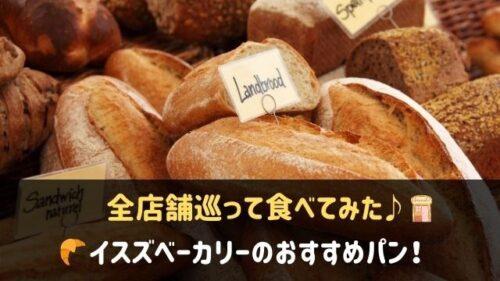 イスズベーカリーのパン