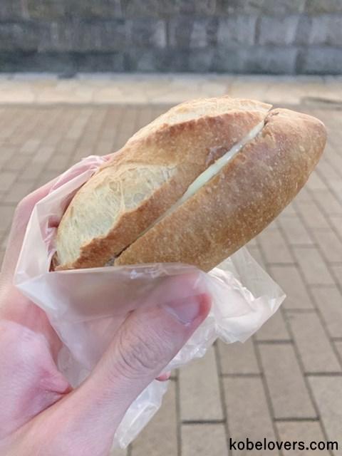 ちょうど良い大きさのパン