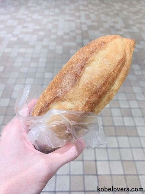 甘い蜜がコーティングされたパン