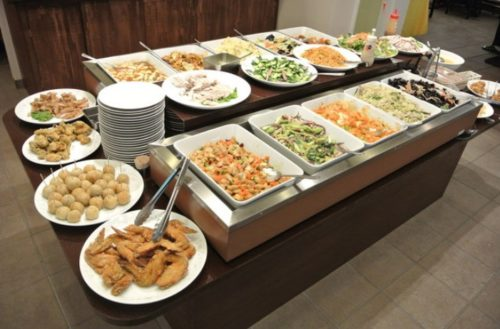 中華料理のオーダーバイキング