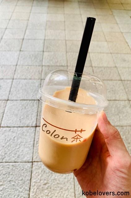 Colon茶 三ノ宮店のタピオカミルクティー