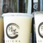 清茶 SEICHAのタピオカドリンク