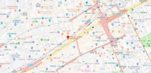 清茶 SEICHA 三宮店のアクセス