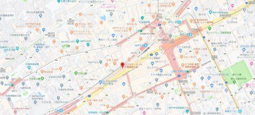 バブルマーケット 三宮高架下店の店舗&アクセス情報