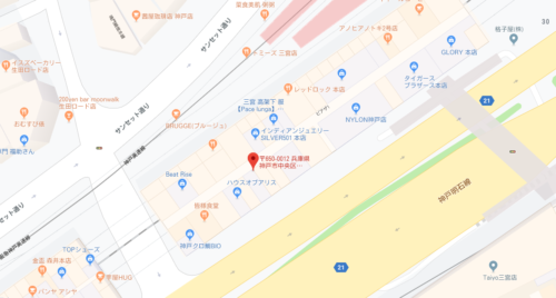 シェイシェイパールのアクセス&店舗情報