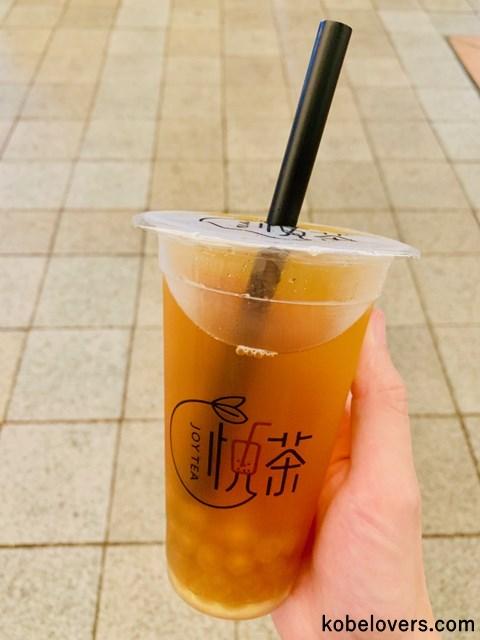悦茶 JOY TEAのタピオカドリンク
