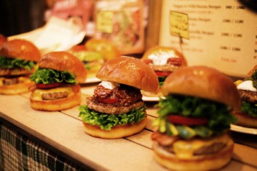 三宮で人気のハンバーガー