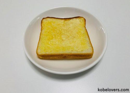 バターを塗って食べてみた
