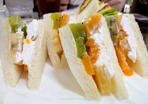 フルーツサンドイッチセット