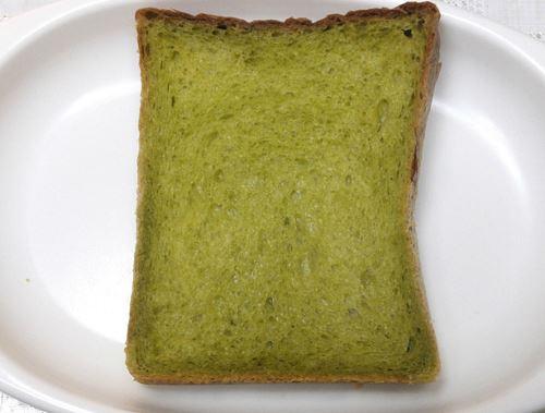 ほうれん草食パン