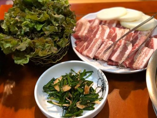 豚の三段バラセット