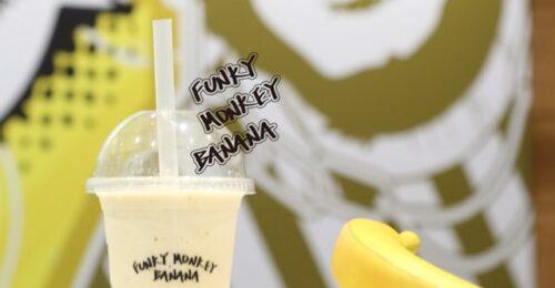ファンキーモンキーバナナ 神戸三宮店のバナナジュース