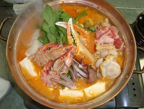 海鮮味噌鍋