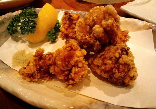 淡路鶏モモ肉の唐揚げ