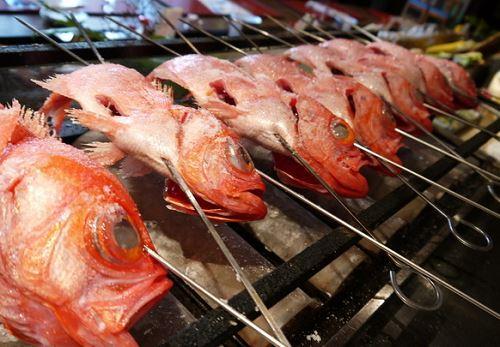 魚の汐焼き